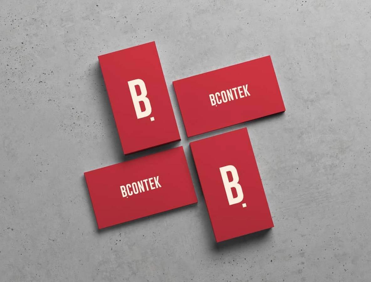 Logotipo Bcontek   ☻